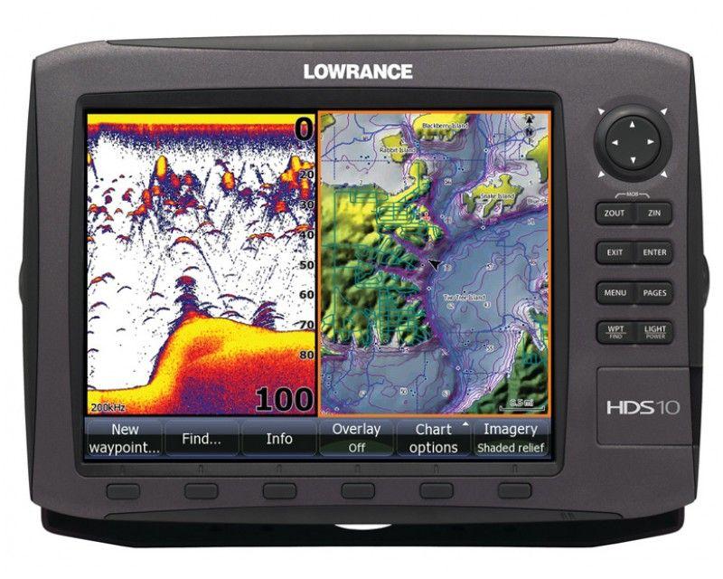 """Echolotas Lowrance HDS10 Gen2 su GPS be sonaro. 10.4"""" HDS"""