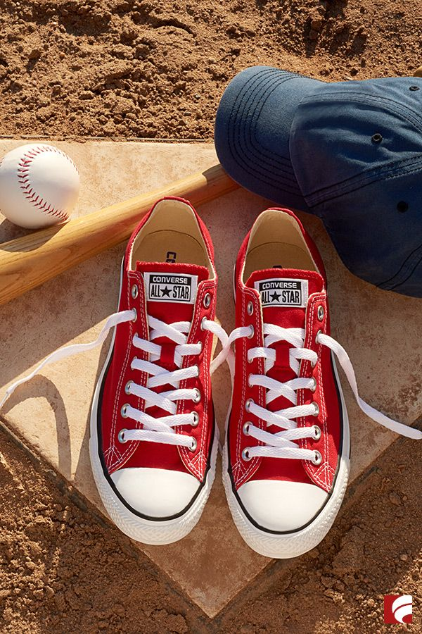 60fad23c192e5d Everyone knows that Converse is the real MVP of baseball season. Lace 'em  up and get ready to knock it out of the park with your ballgame style!