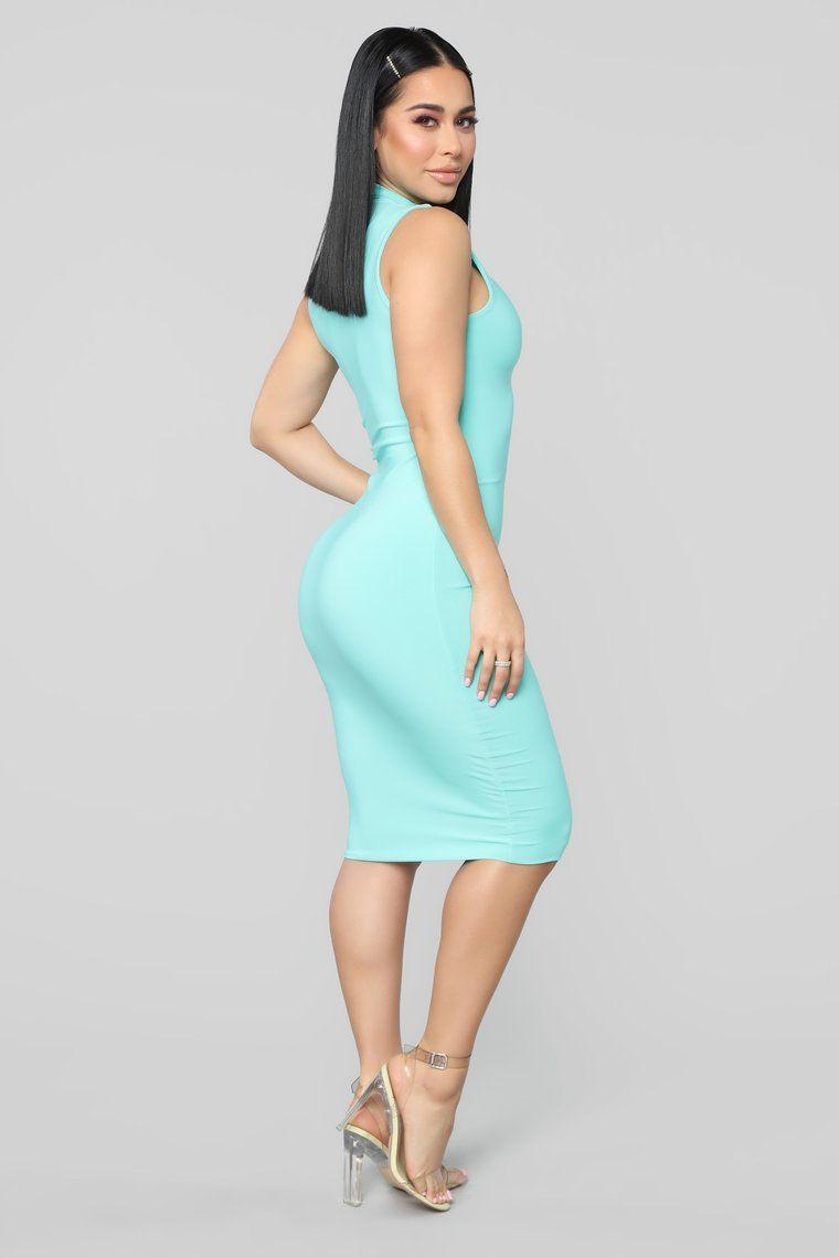 Hug Your FN Body Midi Dress - Mint   Dresses, Midi dress