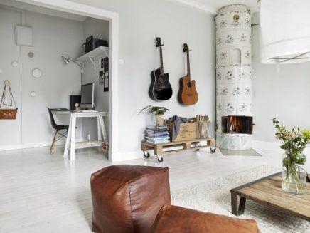 Warme Scandinavische woonkamer | Room decor, Living rooms and Interiors