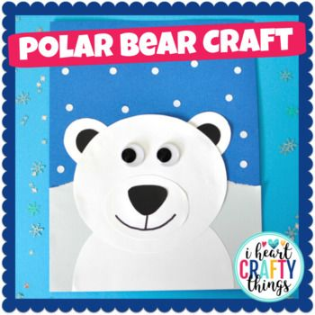 polar bear craft activity winter pinterest bear crafts craft