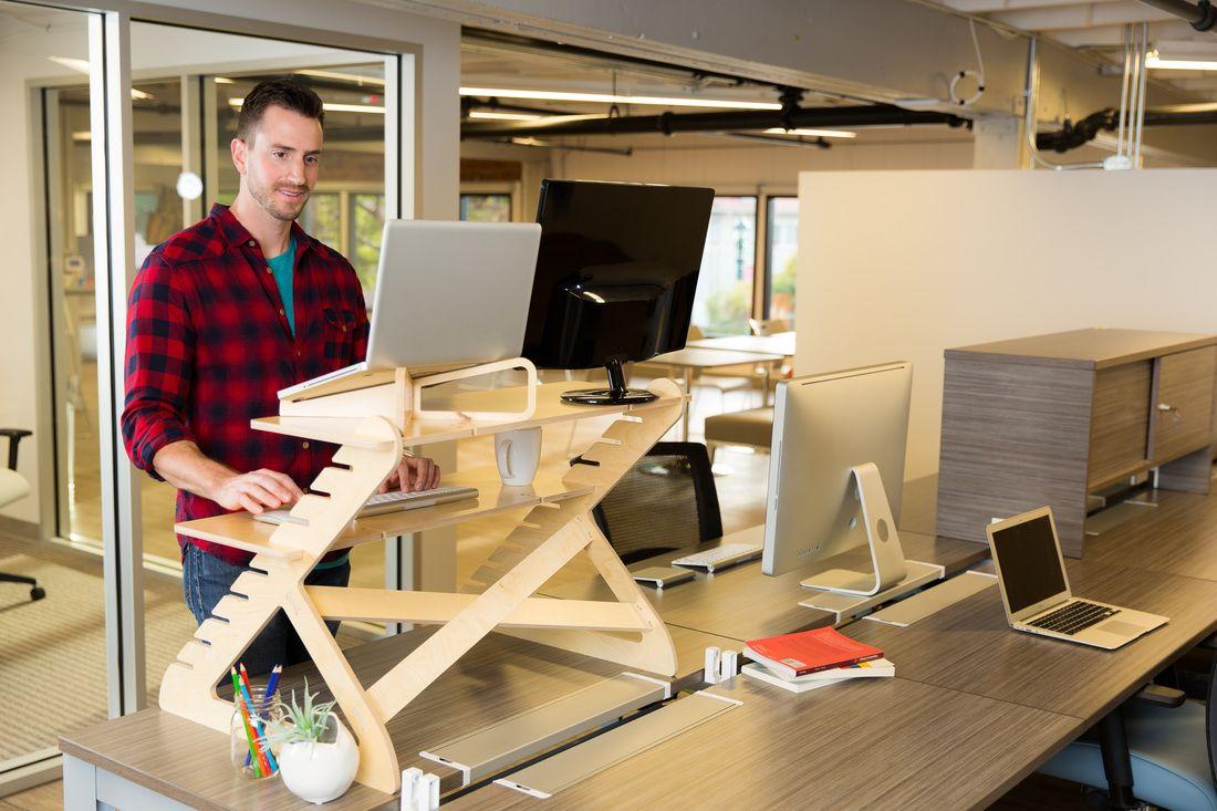 6 Unique Standing Desks That Are Less Than 200 Affordable Standing Desk Best Standing Desk Desk