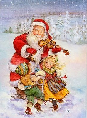 Santa by Lisi Martin.