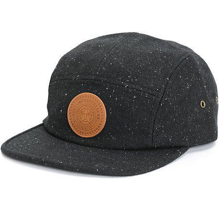 Get a unique new style with a dark khaki 7 panel ripstop crown with a  Brixton Supply logo patch on the front and contrasting brown suede bill. 752f43bdbcf