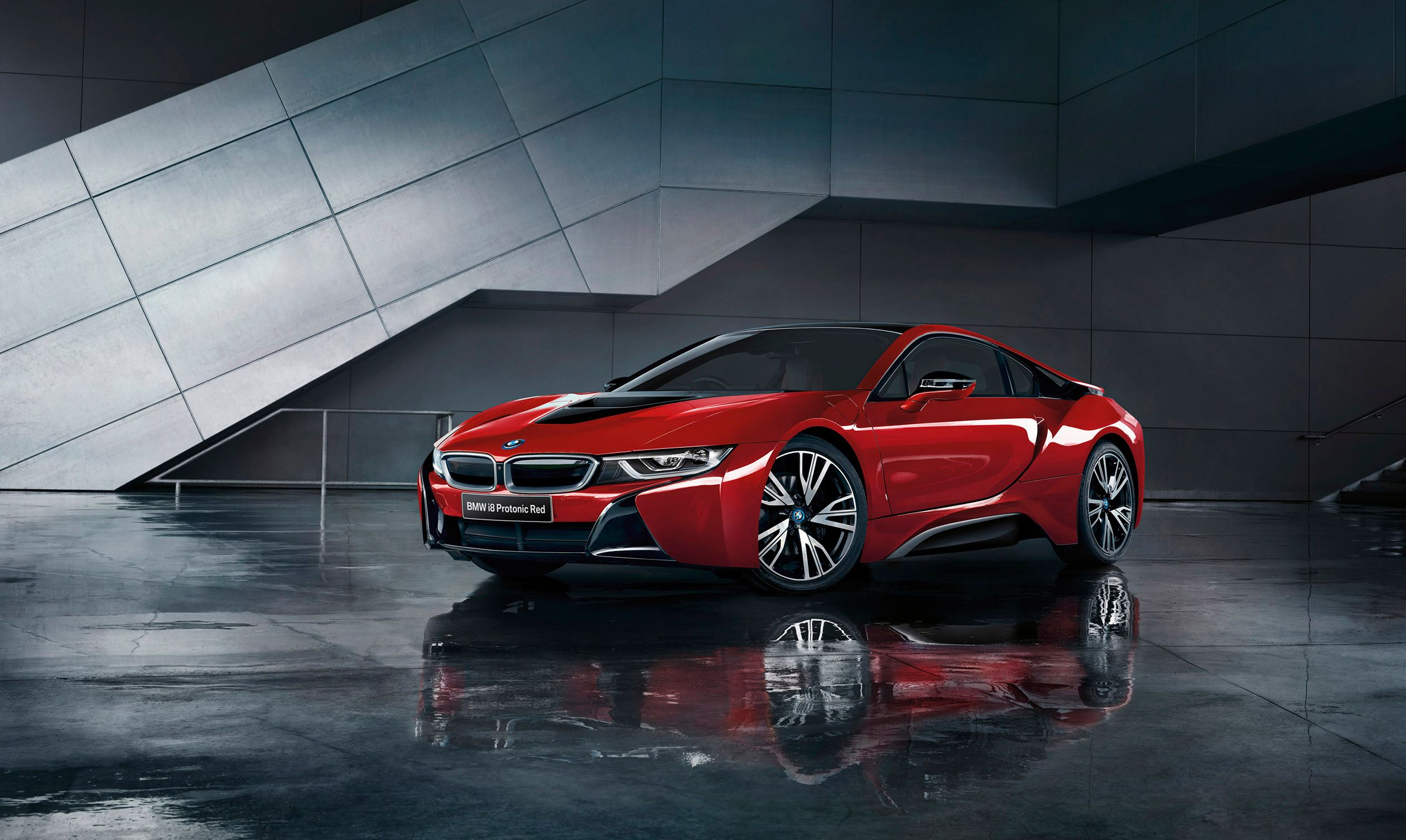 Protonic Red Background Bmw I8 Bmw Super Cars
