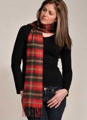 Maple #CashmereTartanScarf At #VeryPashmina