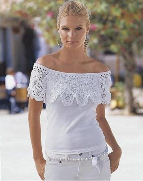 Muitas vezes crochê | Customização de roupas, Customização de e Customização YL55