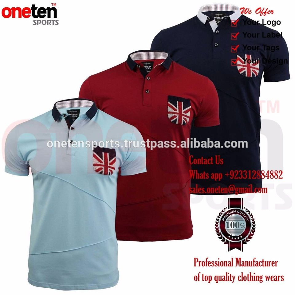 New 2017 Top Quality Mens Embroidery Polo Men Shirts Brand Polo