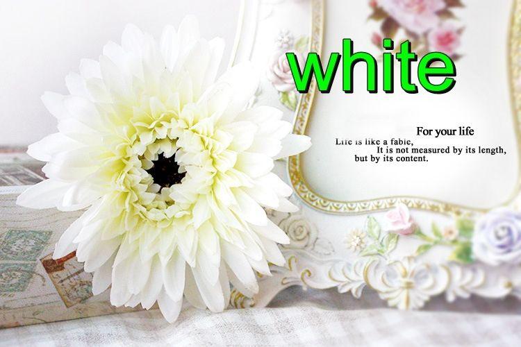 Aliexpress Com Buy New Hot Selling High Quality Silk Artificial Flower Gerbera Sunflower Home Wedding Par Flower Store Wedding Party Decorations Home Wedding