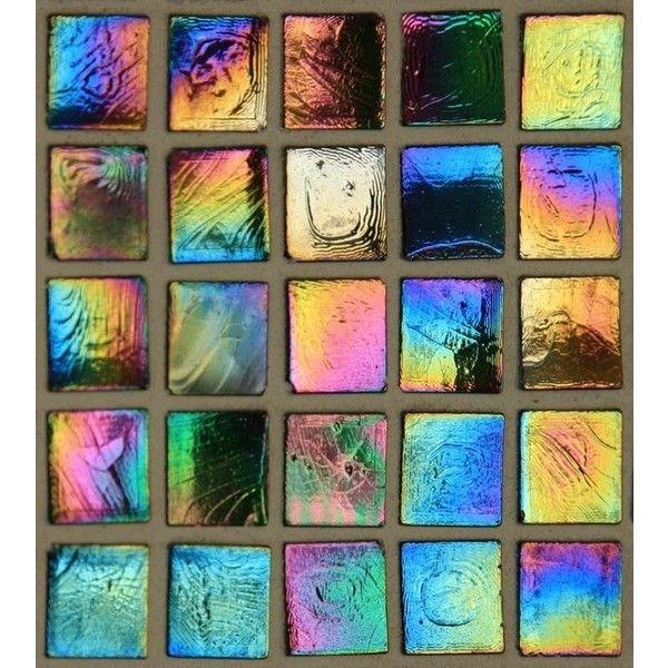 Multi Colored Iridescent Glass Tile Wallpaper Iridescent Glass Tiles Iridescent Tile Tile Wallpaper