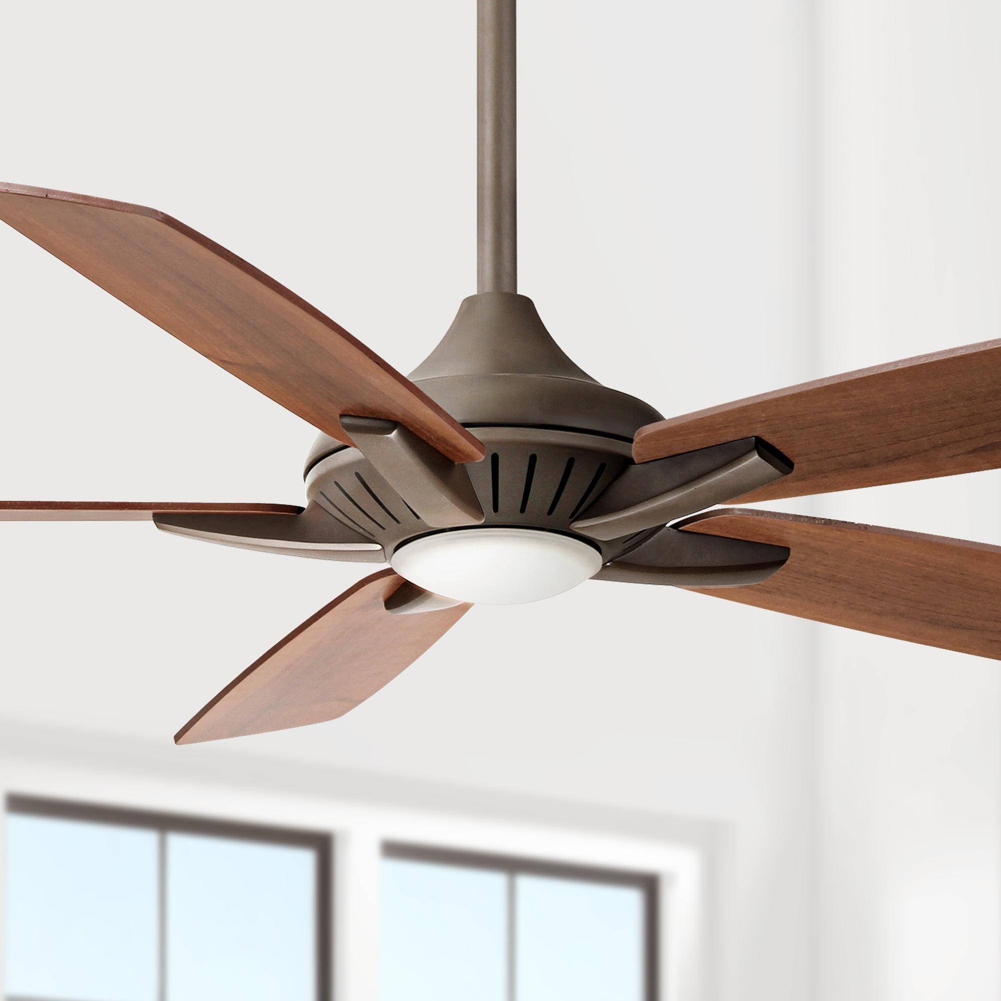 52 Inch Minka Aire Dyno Oil Rubbed Bronze Ceiling Fan