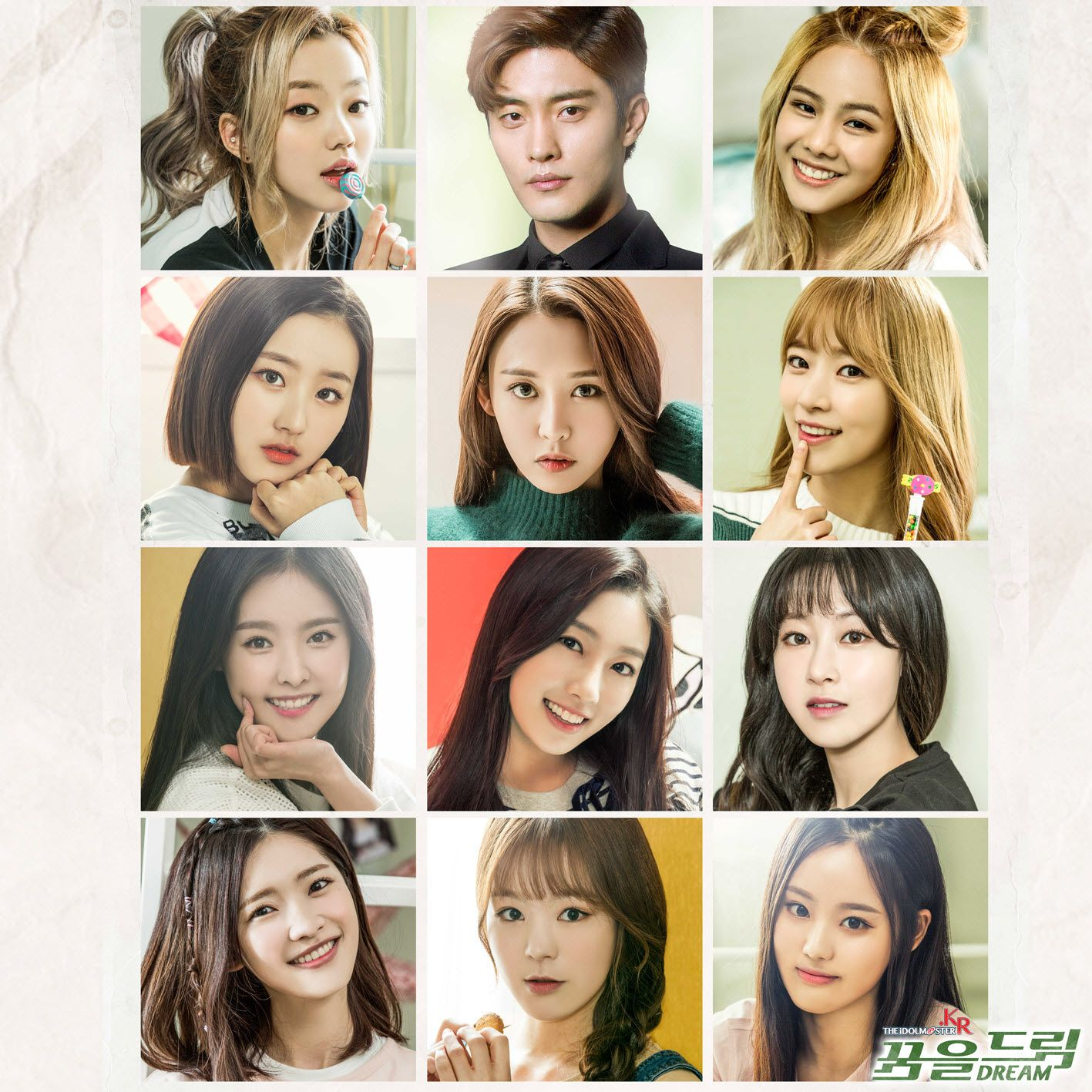 Real Girls Project 'THE IDOLMSTER.KR OST Part 3' Album