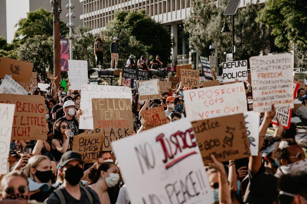 George Floyd Breonna Taylor Black Lives Matter Protests Downtown Los Angeles Black Lives Matter Protest Black Lives Matter Photo