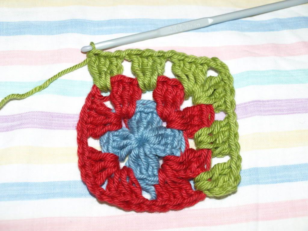 simple granny square | Crochet projects | Pinterest | Ganchillo ...