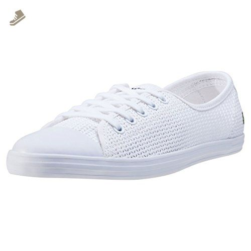 Lacoste Ziane 217 Womens Trainers White 8 Uk Lacoste Sneakers For Women Amazon Partner Link Trainers Women Lacoste Women Lacoste