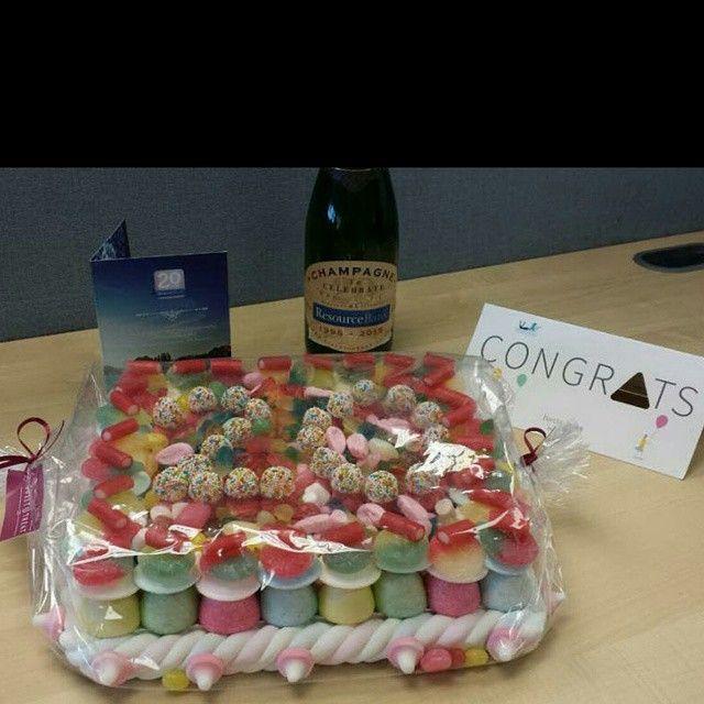 ResourceBank's 20th Anniversary Celebration Cake!