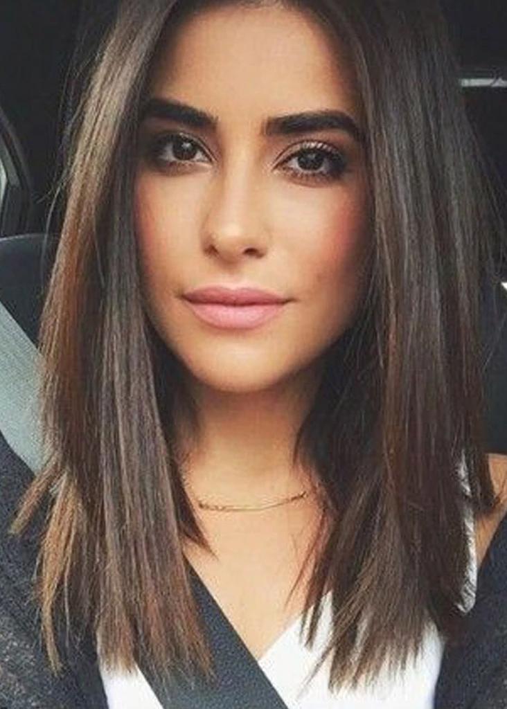 Longbob Thick Hair Styles Short Straight Hair Medium Length Hair Styles