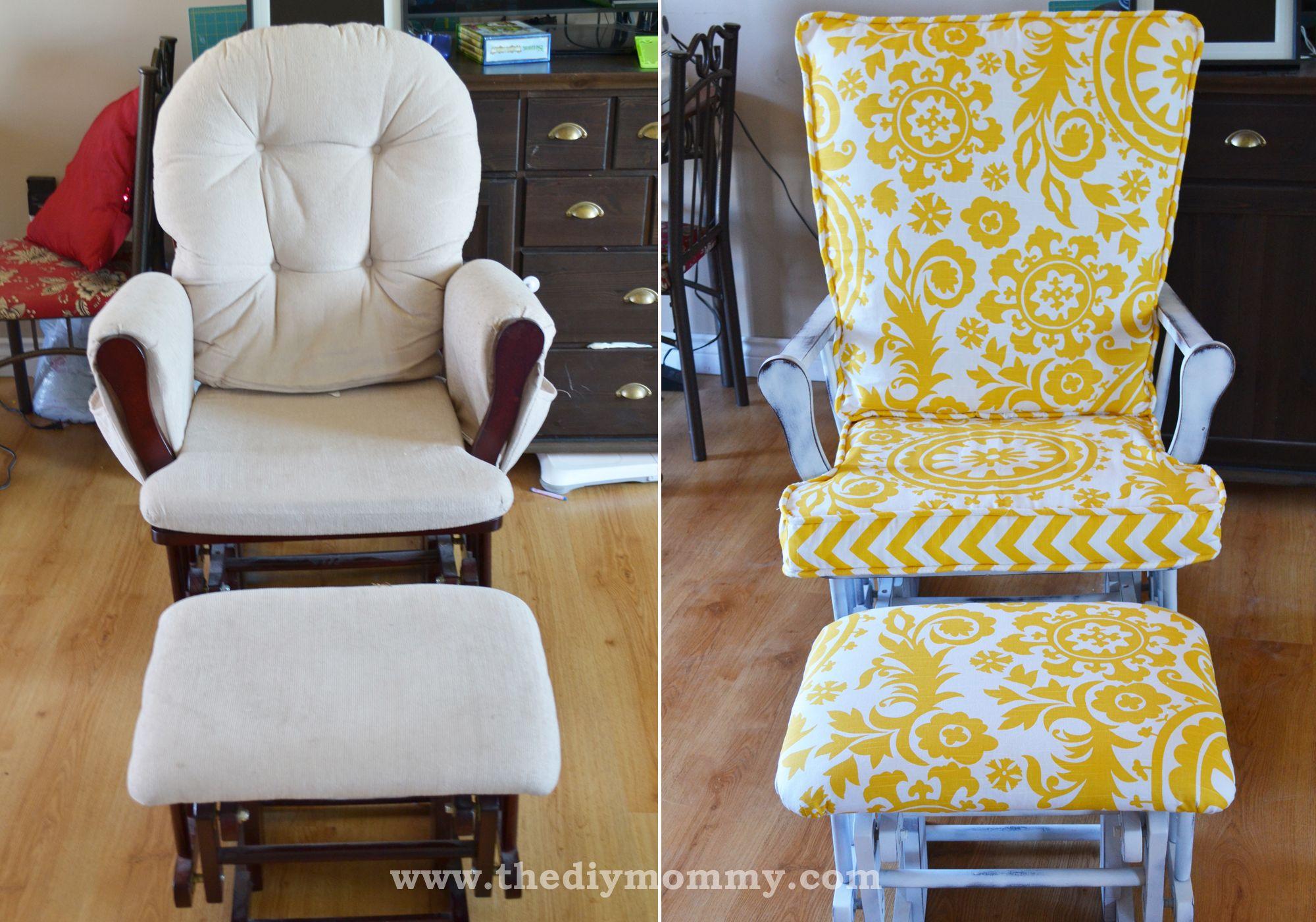 Update A Nursery Glider Rocking Chair Glider Rocking Chair