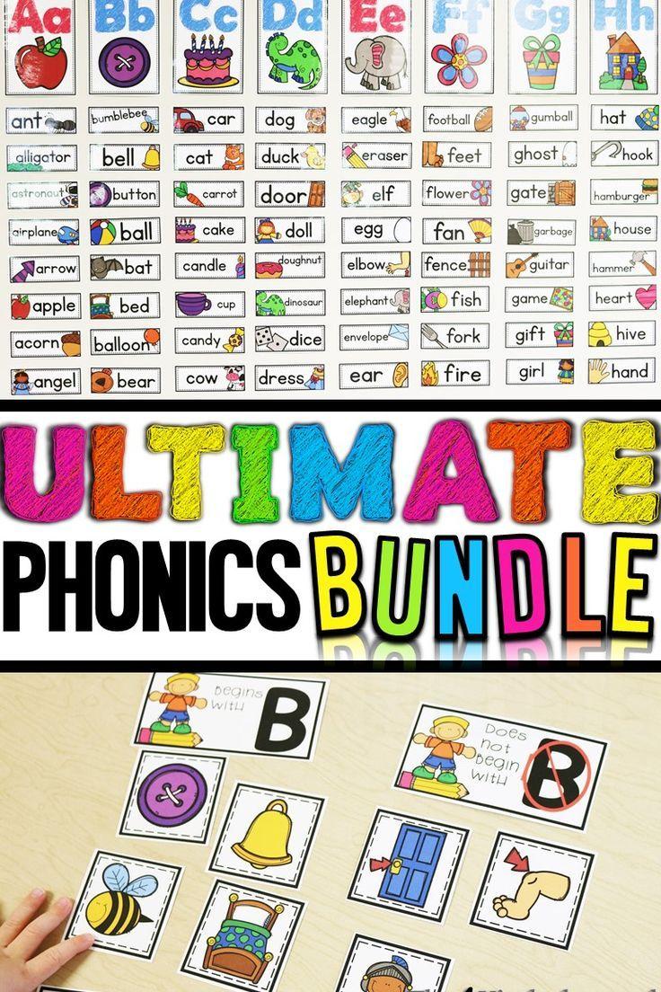 Ultimate phonics bundle   Kind