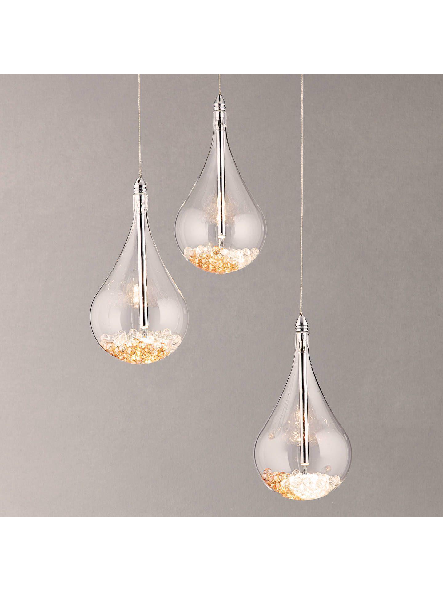 John Lewis & Partners Sebastian 14 Light LED Ceiling Light, Chrome