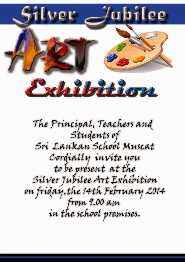 invitation for art exhibition template Google Search GENERAL