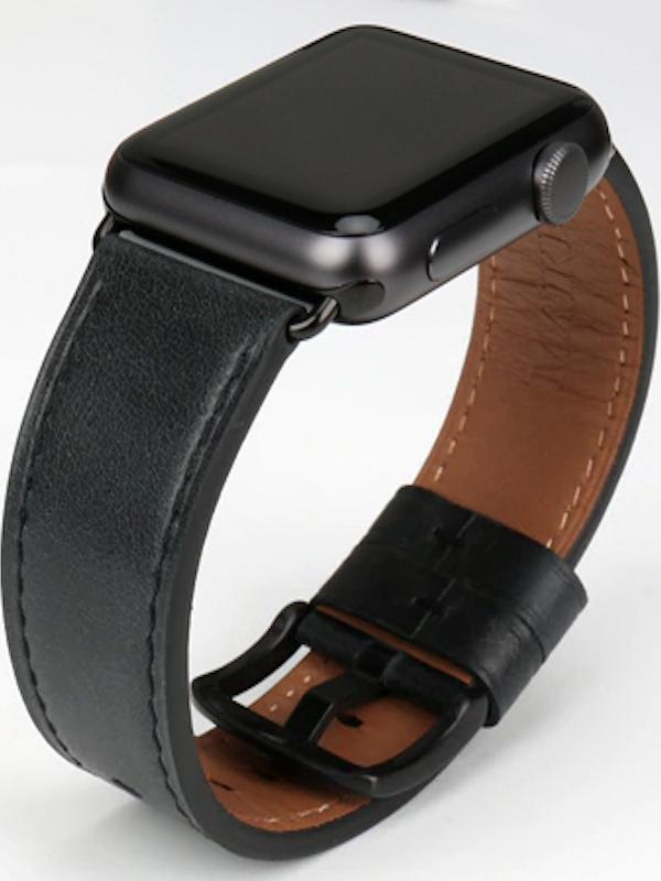 Apple Watch Leder Armband Echtleder Naturleder Handgefertigt Apple Watch Series 1 2 3 Watch Strap Replacement Leather Watch Strap Apple Watch Bands