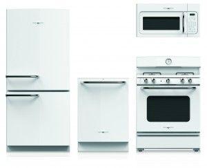 Pin By Mary Mc On Beach Houses Retro Kitchen Appliances Retro Refrigerator White Appliances