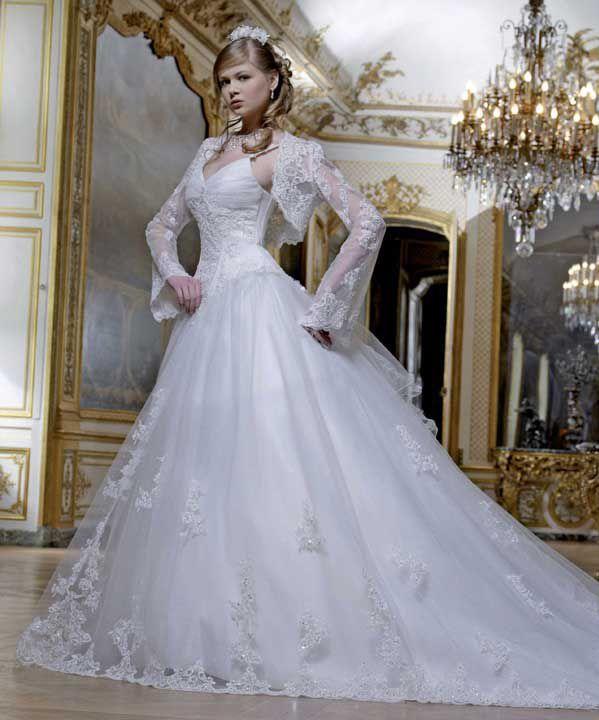 df59e8fd58cd abiti da sposa principessa oro blu