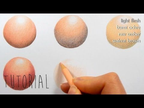 How to Color Skin Tones | Color shades, Colored pencils and Tutorials