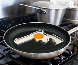 Hand Gun Egg Fryer Mold