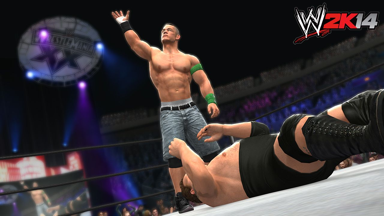 john cena enters the wwe 2k14 #30towm30 countdown with his