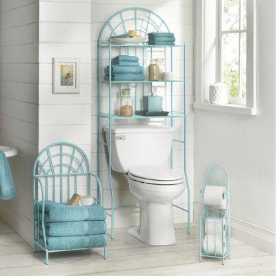 3-piece arched bath set | bathroom furniture storage