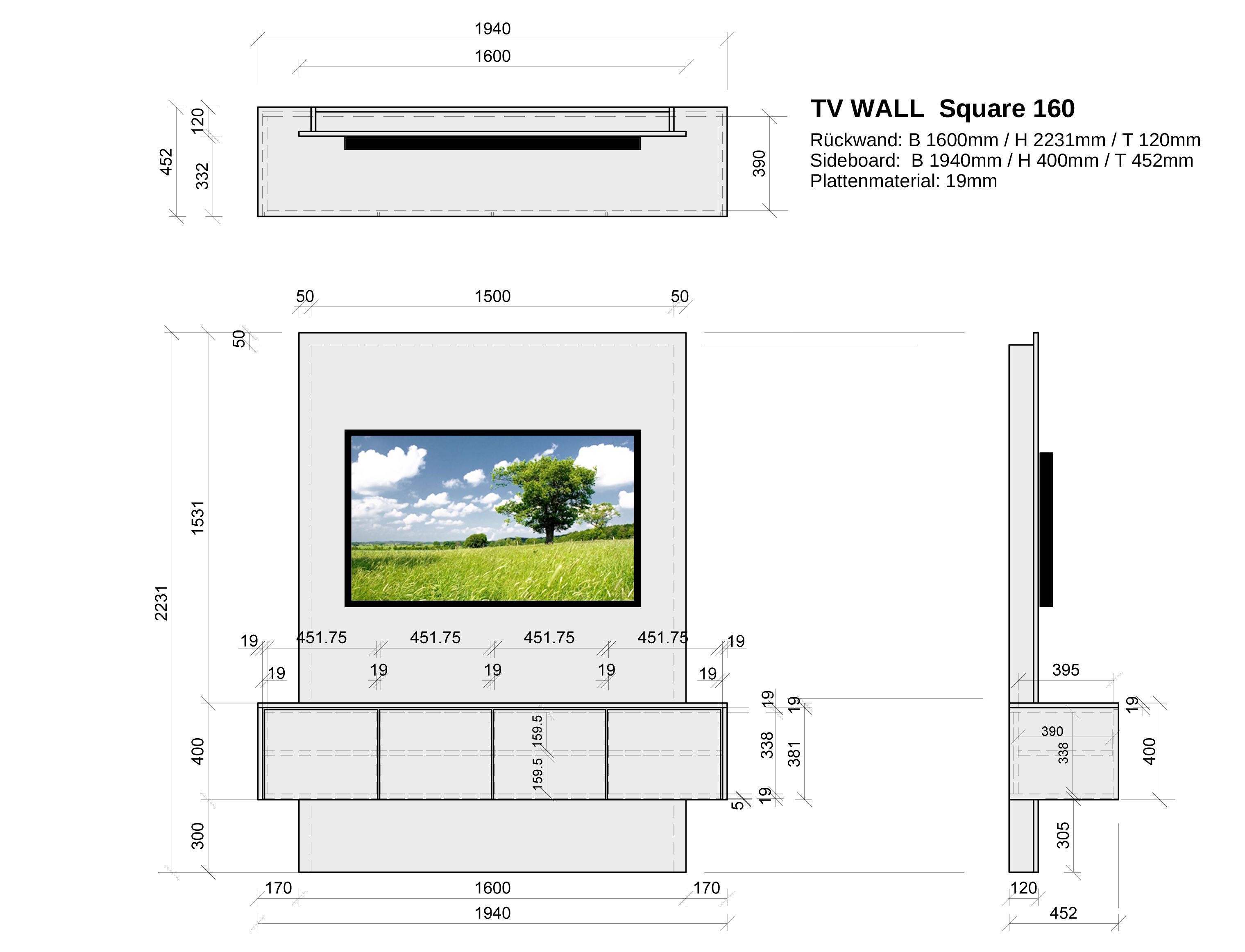 Tv Wand Selber Bauen Mit Logoclic Lamiwall Tv Wand Selber Bauen