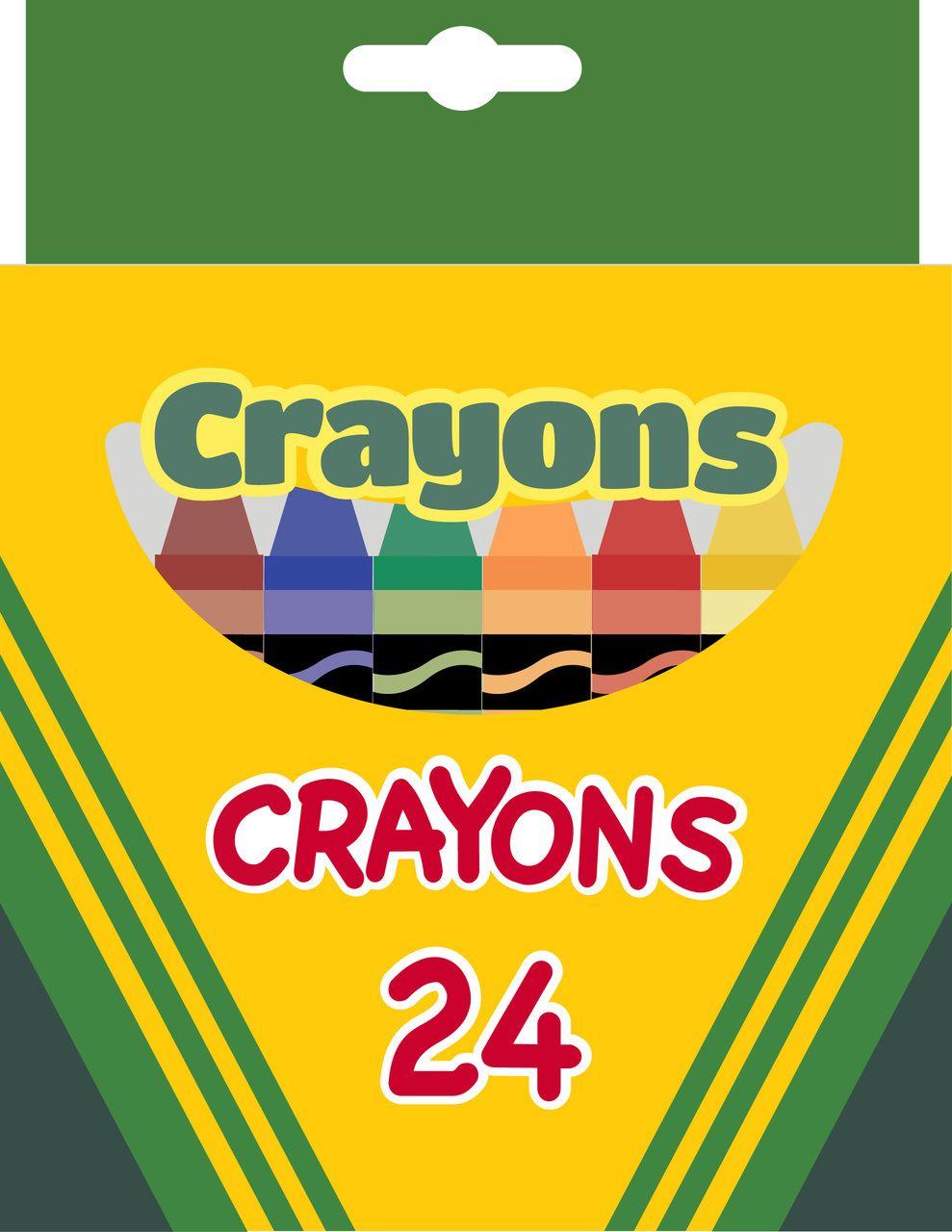 Crayong Box Clipart