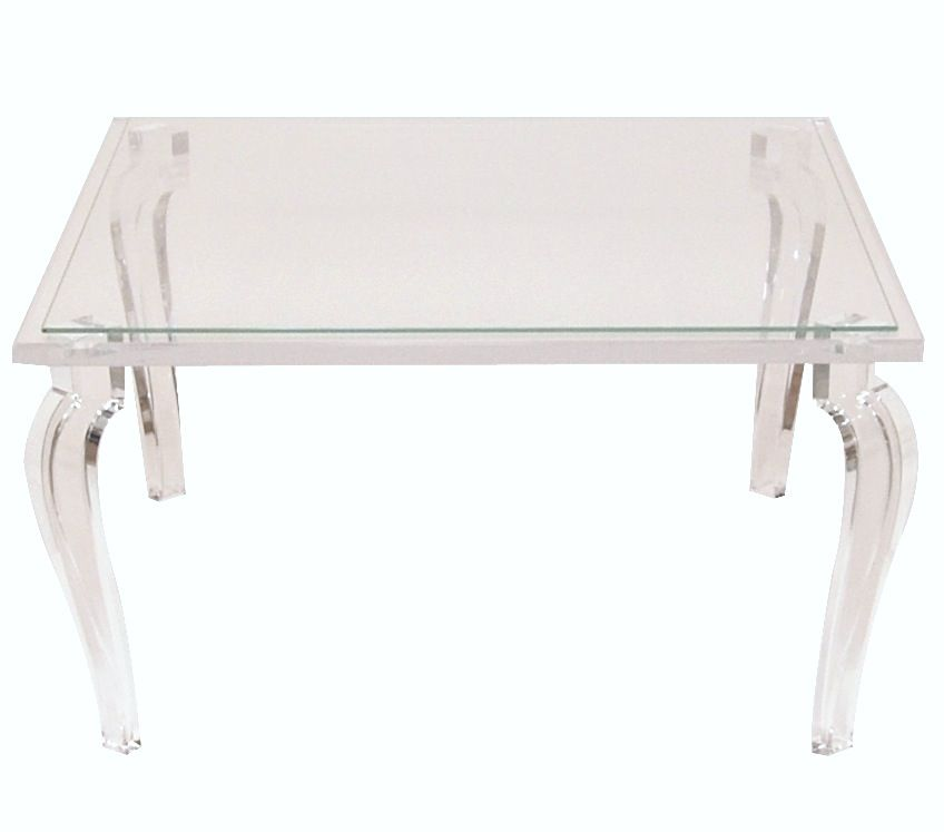 Lucite Vintage Furniture. Need To Open Up Living Room Because Of Heavy  Furniture. But