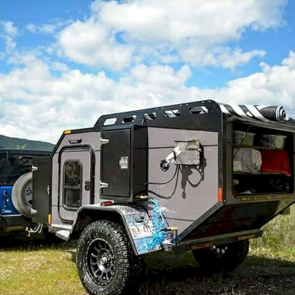Camper trailers for a good camping expertise off road