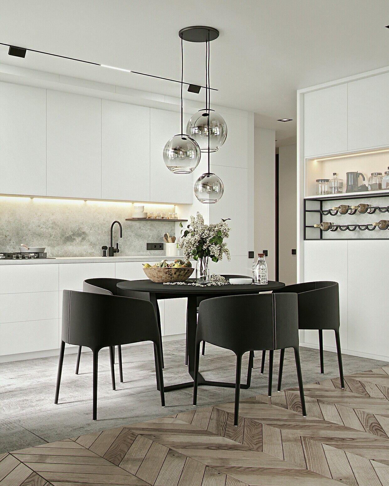 Kitchen   Dining Room Inspiration / Image Via Behance ...