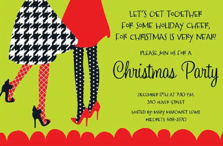 christmas party invitation examples invitation ideas in 2018