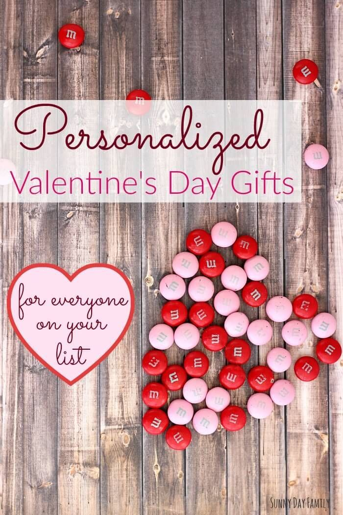 personalized valentines day gifts for everyone on your list