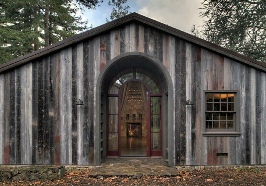 cute wood cabin