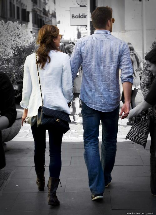 Jensen and Danneel-- most beautiful and adorable couple ever