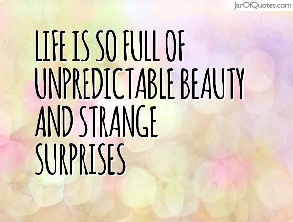 life surprises quotes