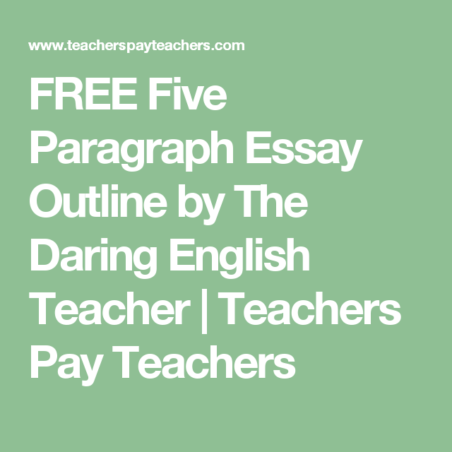 the five paragraph essay english