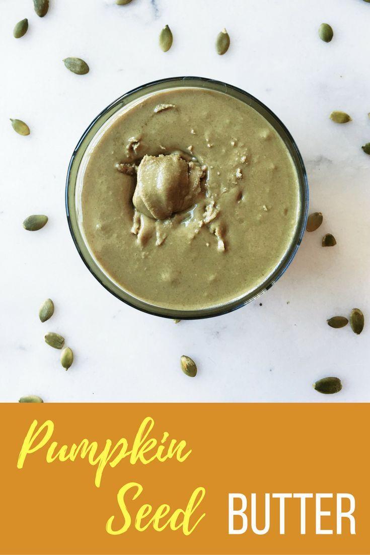 Pumpkin Seed Butter - Erin's Inside Job