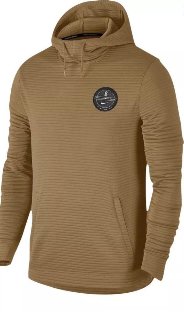 Nike Dry Kyrie Hoodie Elemental Gold Size Medium 890768 722