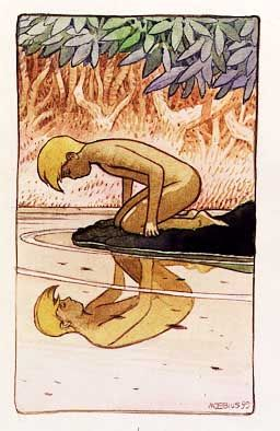 who is narcissus in the alchemist
