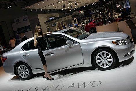 Lexus LS460 All-Wheel-Drive