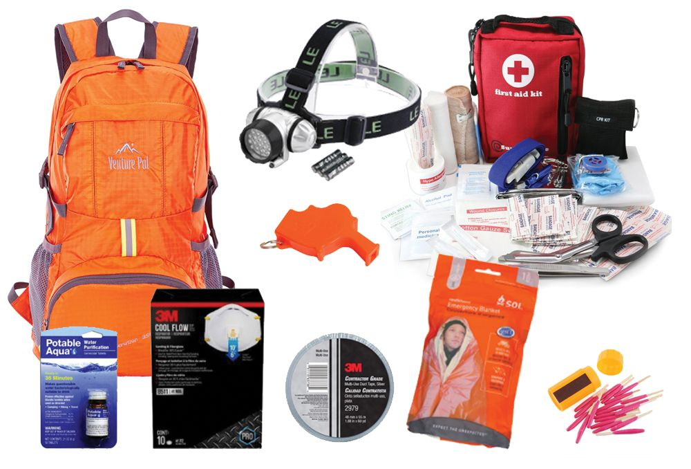 The Fastest Easiest Way To Put Your Emergency Go Bag Or