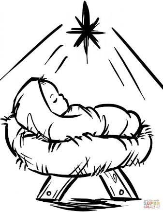 Resultado De Imagen Para Siluetas Pesebre Para Imprimir Paginas Para Colorear De Navidad Tarjetas De Navidad Religiosas Colores De Navidad
