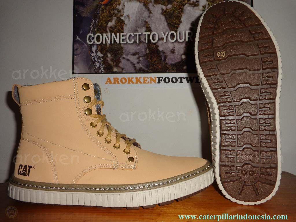 Harga Jual Sepatu Caterpillar Original 1260000 Black Low Boots Suede Payson Honey
